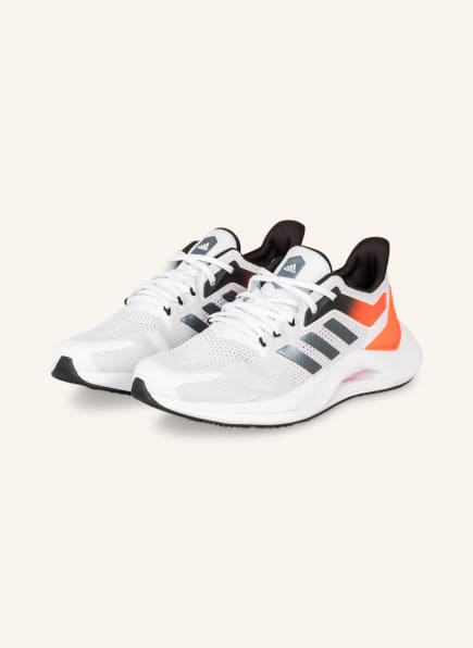 adidas Laufschuhe ALPHATORSION 2.0, Farbe: WEISS/ GRAU (Bild 1)