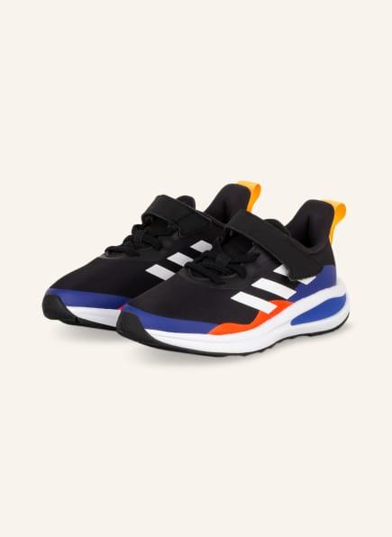 adidas Sneaker FORTARUN EL, Farbe: SCHWARZ/ BLAU/ NEONROT (Bild 1)