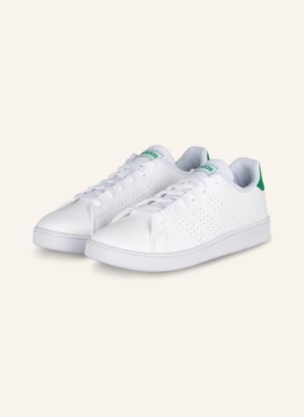 adidas Sneaker ADVANTAGE, Farbe: WEISS/ GRÜN (Bild 1)