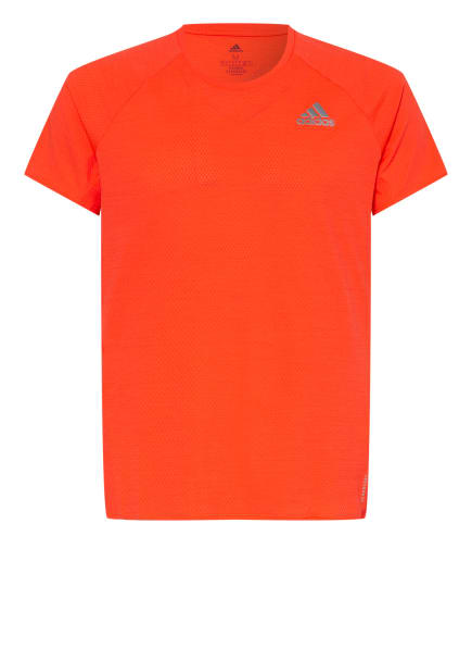 adidas Laufshirt RUNNER, Farbe: NEONROT (Bild 1)