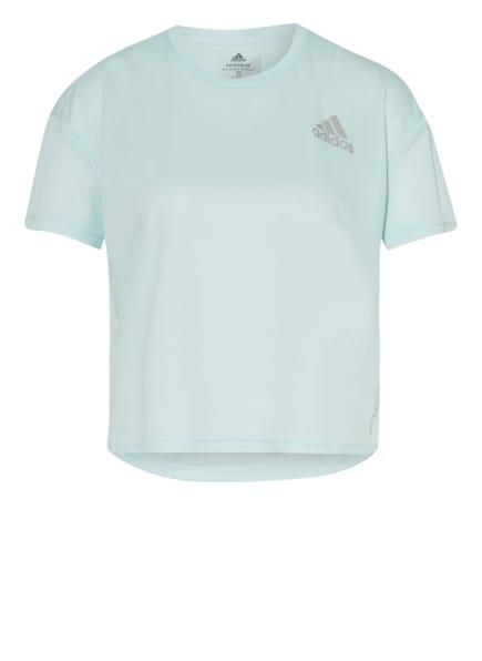 adidas Laufshirt FAST PRIMEBLUE, Farbe: MINT (Bild 1)