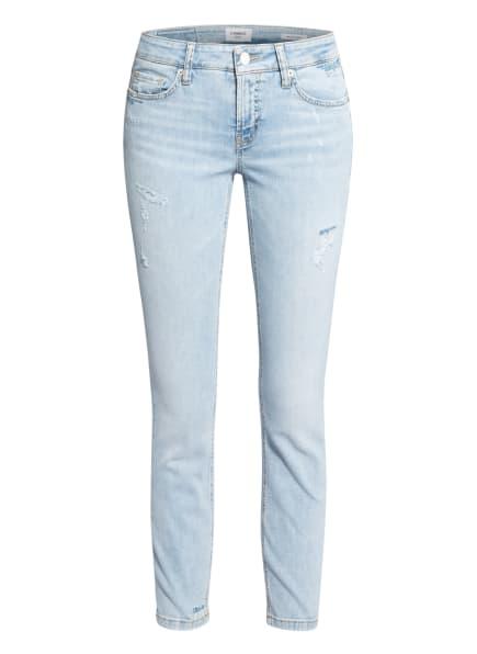 CAMBIO 7/8-Jeans LIU mit Schmucksteinbesatz, Farbe: 5279 summer destroyed contrast (Bild 1)