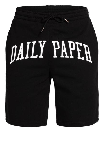 DAILY PAPER Sweatshorts REARCH, Farbe: SCHWARZ/ WEISS (Bild 1)