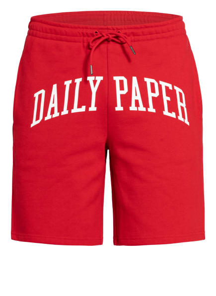 DAILY PAPER Sweatshorts REARCH, Farbe: ROT/ WEISS (Bild 1)