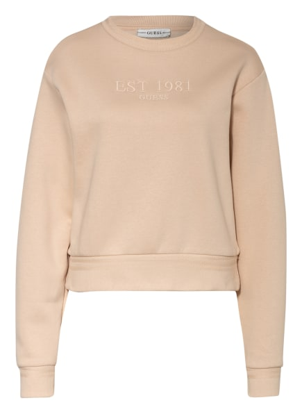 GUESS Sweatshirt CORNELIA , Farbe: BEIGE (Bild 1)