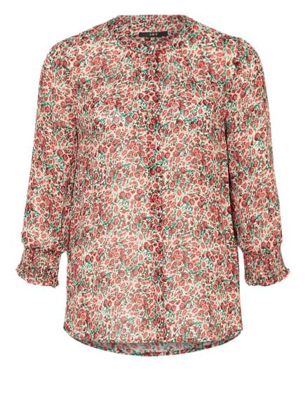 SET Bluse, Farbe: ECRU/ ROT/ GRÜN (Bild 1)