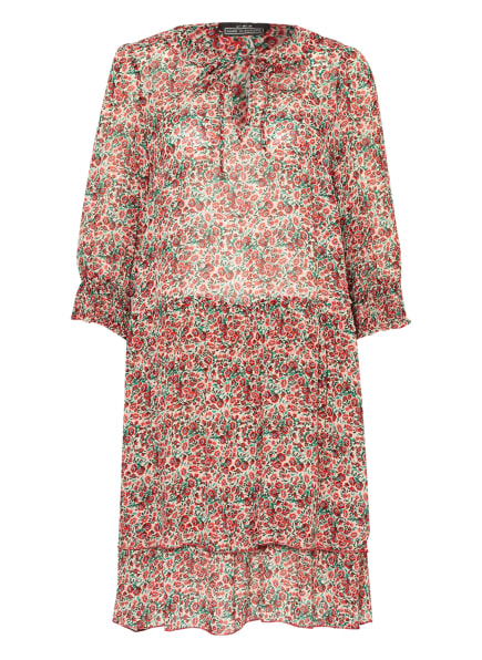 SET Kleid, Farbe: ECRU/ ROT/ GRÜN (Bild 1)