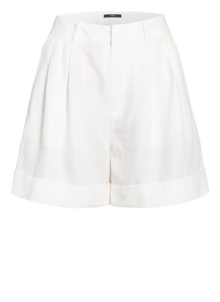 SET Shorts mit Leinen, Farbe: WEISS (Bild 1)