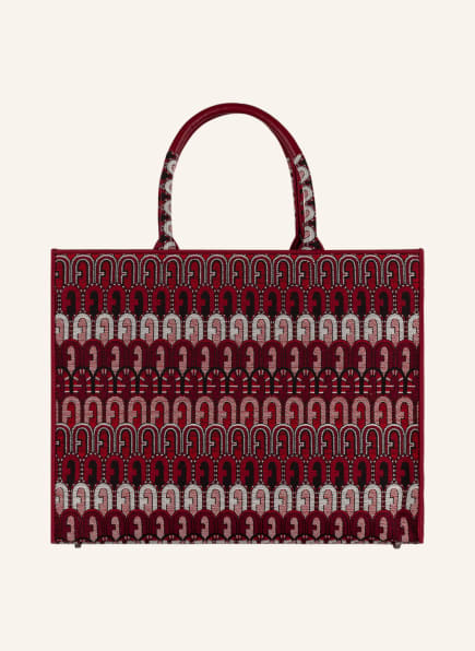 FURLA Shopper OPPORTUNITY, Farbe: ROT/ SCHWARZ/ WEISS (Bild 1)