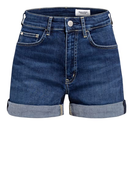Marc O'Polo DENIM Jeans-Shorts , Farbe: P63 multi/basically blues wash (Bild 1)