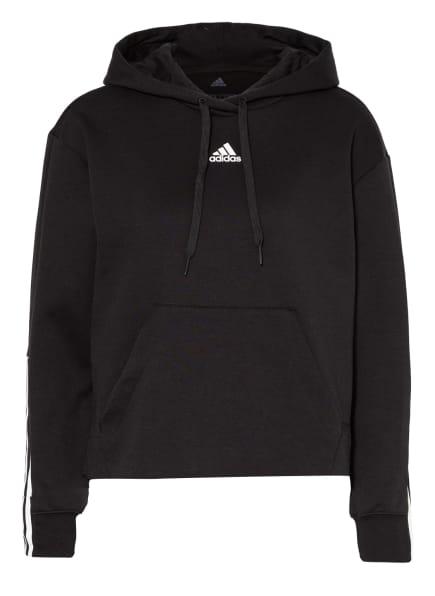 adidas Hoodie, Farbe: SCHWARZ (Bild 1)
