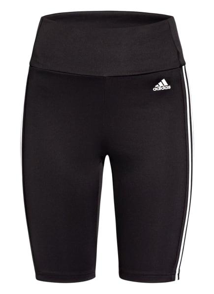 adidas Fitnessshorts DESIGNED 2 MOVE, Farbe: SCHWARZ/ WEISS (Bild 1)