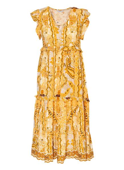 FrogBox Kleid, Farbe: GELB/ SCHWARZ/ WEISS (Bild 1)