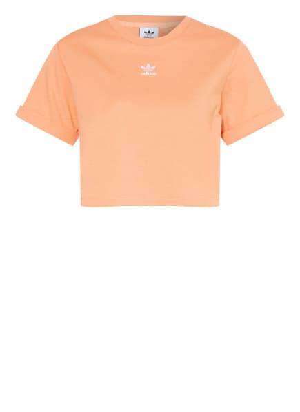 adidas Originals Cropped-Shirt ADICOLOR ESSENTIALS, Farbe: LACHS (Bild 1)
