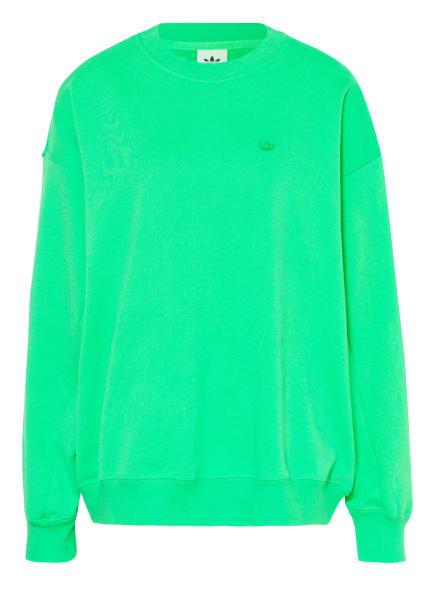 adidas Originals Oversized-Sweatshirt ADICOLOR, Farbe: HELLGRÜN (Bild 1)