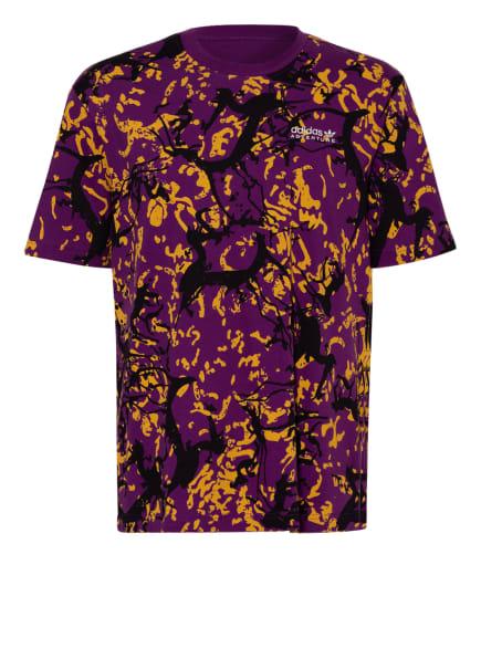 adidas Originals T-Shirt, Farbe: LILA/ GELB/ SCHWARZ (Bild 1)