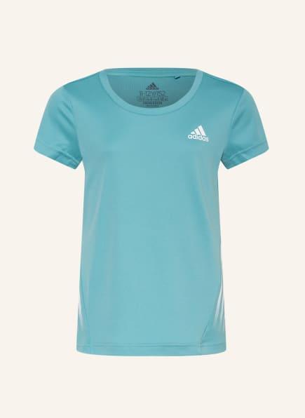adidas T-Shirt AEROREADY, Farbe: MINT (Bild 1)