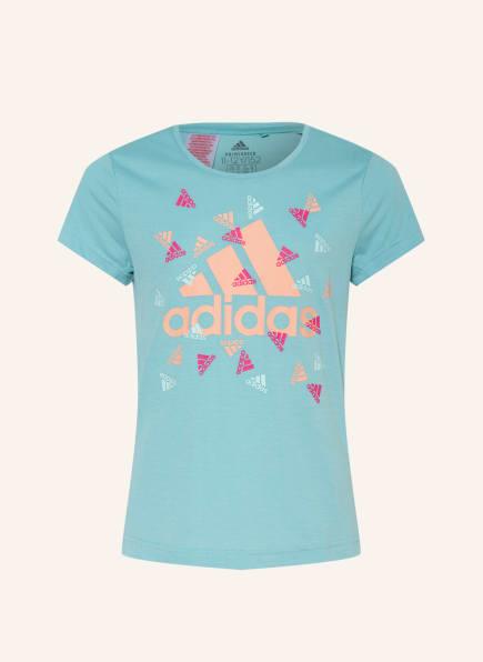 adidas T-Shirt UP 2 MOVE, Farbe: MINT (Bild 1)