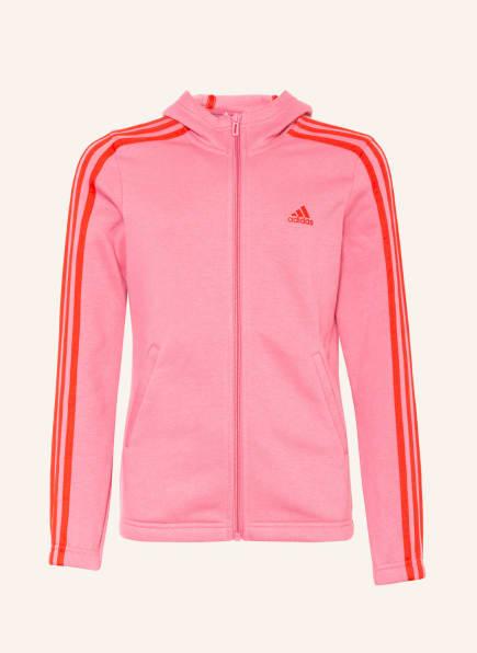 adidas Sweatjacke, Farbe: PINK (Bild 1)