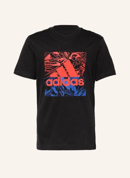 adidas T-Shirt GFX, Farbe: SCHWARZ (Bild 1)