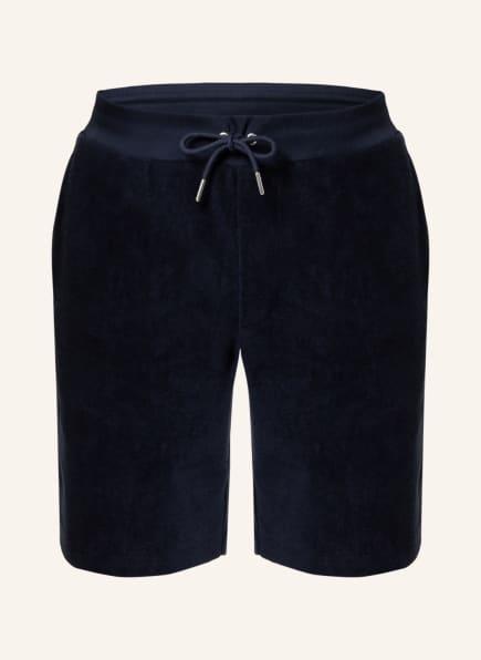RALPH LAUREN PURPLE LABEL Frottee-Shorts, Farbe: DUNKELBLAU (Bild 1)