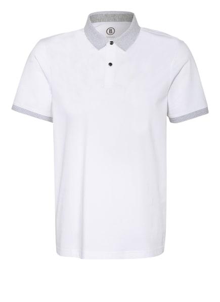 BOGNER Jersey-Poloshirt LAGOS Regular Fit, Farbe: WEISS (Bild 1)