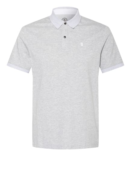 BOGNER Jersey-Poloshirt LAGOS Regular Fit, Farbe: HELLGRAU (Bild 1)