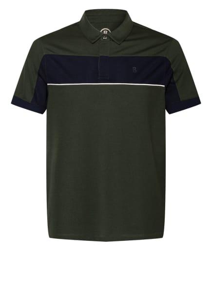 BOGNER Piqué-Poloshirt LAGOS Regular Fit, Farbe: DUNKELGRÜN (Bild 1)