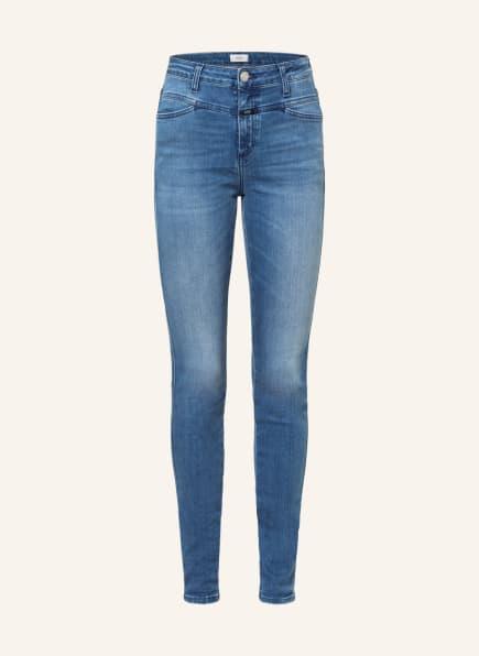 CLOSED Jeans SKINNY PUSHER, Farbe: MBL MID BLUE (Bild 1)