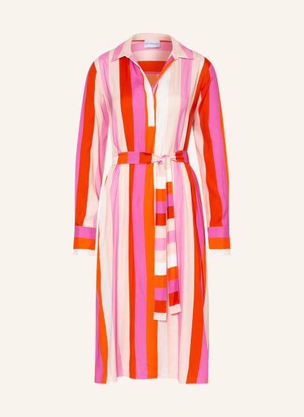 herzensangelegenheit Kleid, Farbe: WEISS/ ORANGE/ ROSA (Bild 1)