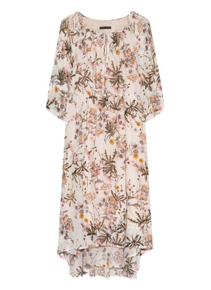 DRYKORN Kleid JOYEE mit 3/4-Arm, Farbe: ECRU/ GRÜN/ GELB (Bild 1)
