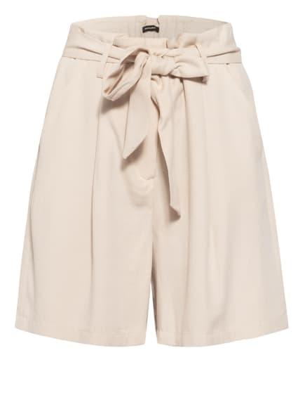 MORE & MORE Paperbag-Shorts, Farbe: BEIGE (Bild 1)