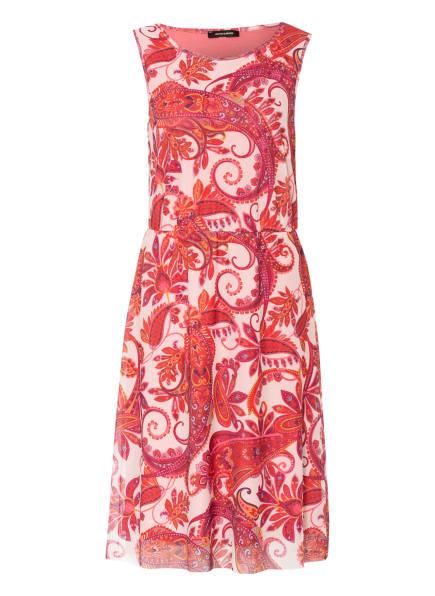 MORE & MORE Kleid, Farbe: HELLROSA/ ROT/ OLIV (Bild 1)