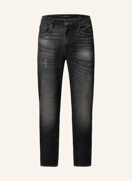 GUESS Destroyed Jeans DRAKE Regular Fit, Farbe: STN1 STONE. (Bild 1)
