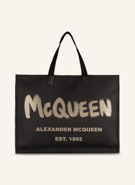 Alexander McQUEEN Shopper CITY EAST WEST, Farbe: SCHWARZ/ BEIGE (Bild 1)