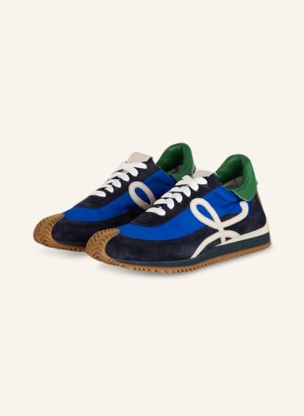 LOEWE Plateau-Sneaker FLOW RUNNER, Farbe: BLAU/ DUNKELBLAU (Bild 1)