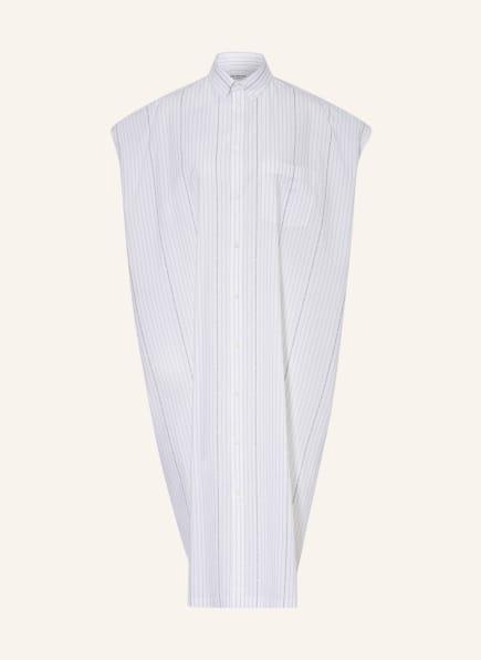 BALENCIAGA Oversized-Hemdblusenkleid, Farbe: WEISS (Bild 1)