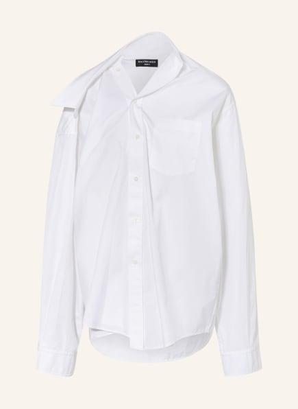 BALENCIAGA Oversized-Bluse, Farbe: WEISS (Bild 1)
