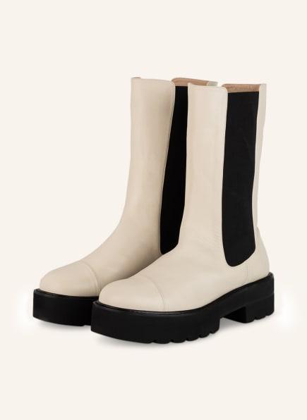 STUART WEITZMAN Chelsea-Boots PRESLEY, Farbe: CREME (Bild 1)