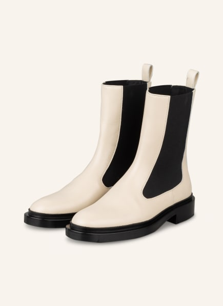 JIL SANDER Chelsea-Boots, Farbe: CREME (Bild 1)