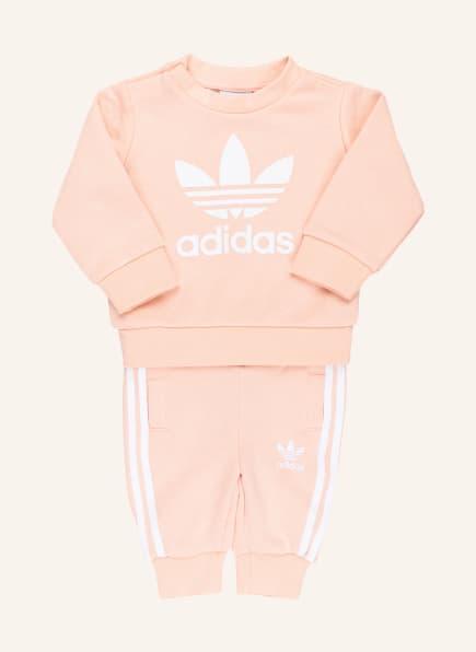 adidas Originals Set: Sweatshirt und Sweatpants, Farbe: HELLORANGE (Bild 1)