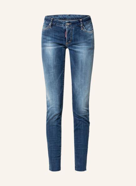 DSQUARED2 Skinny Jeans JENNIFER, Farbe: 470 NAVY BLUE (Bild 1)