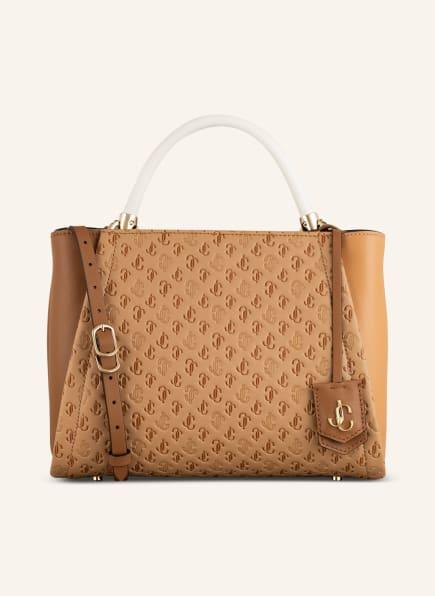 JIMMY CHOO Handtasche VARENNE, Farbe: CAMEL/ CREME (Bild 1)