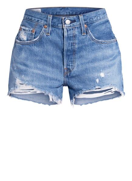 Levi's® Jeans-Shorts 501, Farbe: 81 Med Indigo - Worn In (Bild 1)