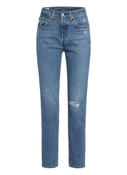 Levi's® Straight Jeans 501 ORIGINAL, Farbe: 88 Dark Indigo - Worn In (Bild 1)