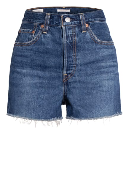 Levi's® Jeans-Shorts RIBCAGE, Farbe: 68 Dark Indigo - Flat Finish (Bild 1)