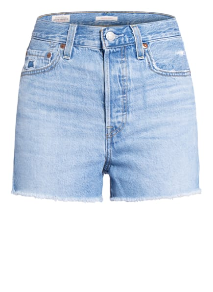 Levi's® Jeans-Shorts, Farbe: 69 Light Indigo - Worn In (Bild 1)