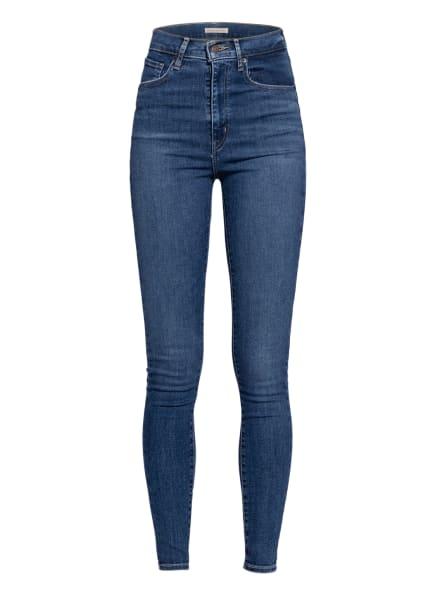 Levi's® Skinny Jeans MILE HIGH SUPER SKINNY, Farbe: 94 Dark Indigo - Worn In (Bild 1)
