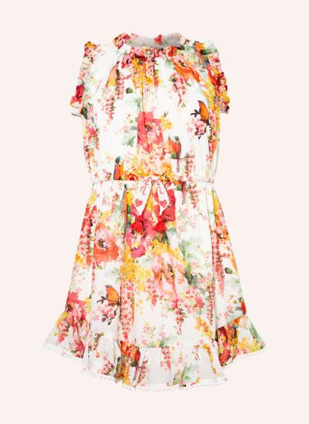ZIMMERMANN Kleid MAE, Farbe: WEISS/ ROT/ GELB (Bild 1)