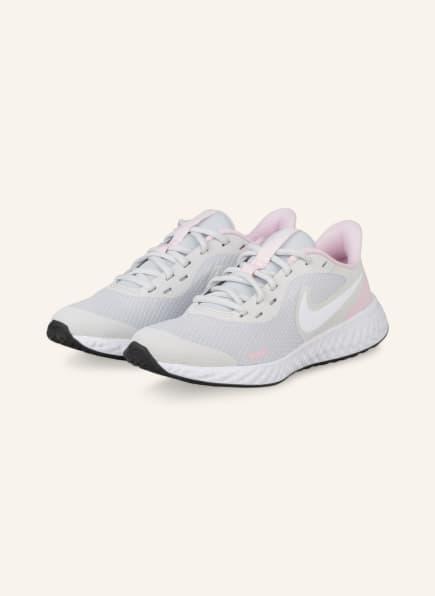 Nike Sneaker REVOLUTION 5, Farbe: HELLGRAU/ HELLROSA (Bild 1)